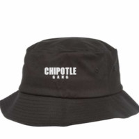 chipotle gang embroidery - Bucket Hat