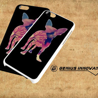 Chihuahua Dog Silhouette Rose Blossom Samsung Galaxy S3 S4 S5 Note 3 , iPhone 4(S) 5(S) 5c 6 Plus , iPod 4 5 case