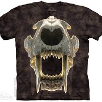 Sabertooth Skull Kids T-Shirt