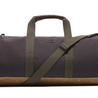 Kennedy Duffel - Eggplant – Premium Accessories Handmade in the USA