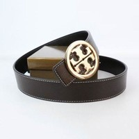 Tory Burch Woman Men Fashion Smooth Buckle Belt Leather Belt-5