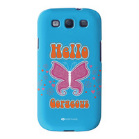 Sassy - Hello Gorgeous #10433 Full Wrap High Quality 3D Printed Case for Samsung Galaxy S3 by Sassy Slang