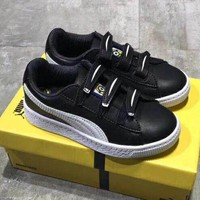 Puma Girls Boys Children Baby Toddler Kids Child Fashion Casual Sneakers Sport Shoes