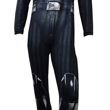 Briefly Stated Men's Star Wars Darth Vader One-Piece (Darth Vadar, S)