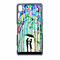 Love Song Romantic In The Rain Paint Sony Xperia Z3 Case