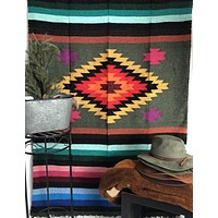 Mexican Large Loomed Blankets