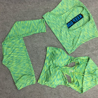 Seamless Colorful Workout Set (Hoodie)