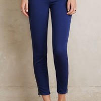 Paige Jane Zip Skinny Jeans in Aruba Blue  Size: