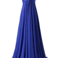 Emma Y Graceful Empire Style Women Prom Dresses Evening Gowns