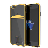 iPhone 7+ Plus Case, PUNKCASE® LUCID Gold Series   Card Slot   SHIELD Screen Protector   Ultra fit