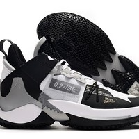 Jordan Why Not Zer0.2 Low - Black/Silver
