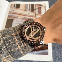 Louis Vuitton LV High Quality Watch Women's Fashion Quartz Watch Leather Watch
