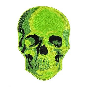 Neon Death Skull Large Patch (Limited Edition)
