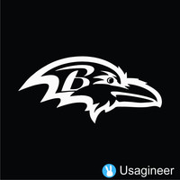 Baltimore Ravens Nfl Sports Vinyl Decal Sticker