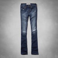 A&F Zoe Boot Mid Rise Jeans