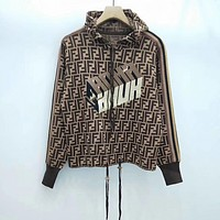 Fendi Fashion Casual Top Sweater Pullover Hoodie