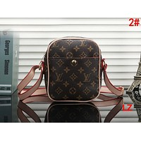 LV Louis Vuitton Trending Women Stylish Leather Shoulder Bag Crossbody Satchel 2#