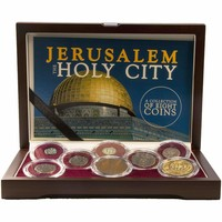Jerusalem: The Holy City: A Collection of 8 Coins