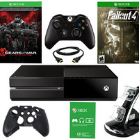 Xbox One 500GB Gears of War Bundle with Fallout 4 and Accs. - E284678 — QVC.com