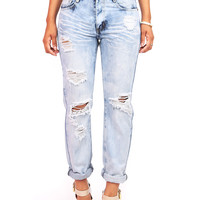 Hush Girlfriend Jeans | Trendy Clothes at Pink Ice