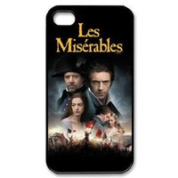 Performing Musicals - Les Miserables Printed iphone 4/4S case hard cover
