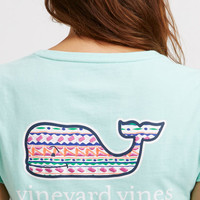 Island Embroidered Whale Tee