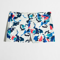 "Factory 3"" printed stretch chino short : Women 