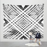 ACID ABSTRACT Wall Tapestry by Chrisb Marquez