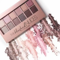 The Blushed Nudes Palette - Eyeshadow Palette - Maybelline