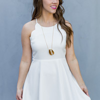 WEB EXCLUSIVE: Such a Lady Dress in White