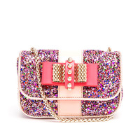 CHRISTIAN LOUBOUTIN   Sweet Charity Glitter Shoulder Bag   Browns fashion & designer clothes & clothing