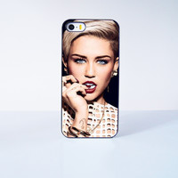 Miley Cyrus  Plastic Case Cover for Apple iPhone 5s 5 6 Plus 6 4 4s  5c