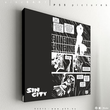 """Sin City - The Babe Wore Red No.1 - 55 x 55 cm (21,6"""" x 21,6"""")"""