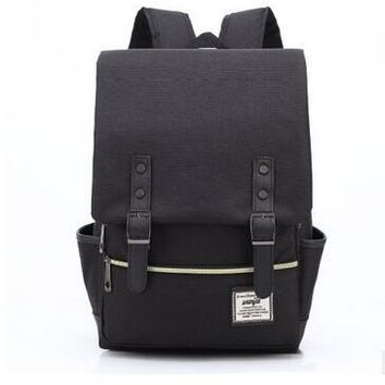 University College Backpack Vintage Gray Laptop Computer   Students School s Rucksacks Leisure for Teenage Boys mochila Male EscolarAT_63_4