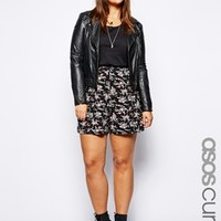 ASOS CURVE Exclusive Culottes In Floral Print