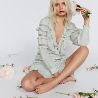 Free People Ziggy Pintuck Mini Dress