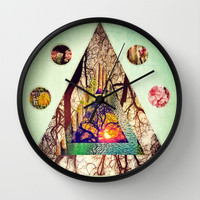 the Grandeur of Nature (compilation III) Wall Clock by DuckyB (Brandi)