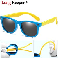 Long Keeper Polarized Kids Sunglasses Boys Girls Baby Infant Sun Glasses UV400 Eyewear Child Shades Gafas Infantil