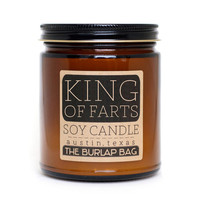 The Burlap Bag - King of Farts candle