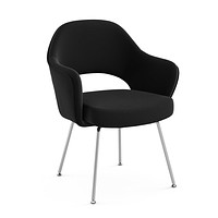 Saarinen Executive Arm Chair Tubular Legs