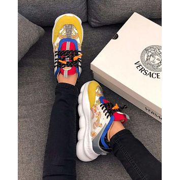 Versace Increased Thick-soled Shoes SR