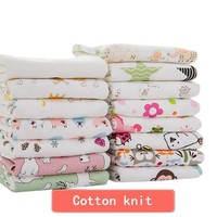 "2 pcs/pack 24""×38"" or 100cm x 76cm Newborn Baby Bed Sheets 100% Cotton Super Soft Crib Sheet Baby Bedding Set Infant Cot Sheets Boys Girls"