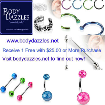 Free Gift with $25.00 Purchase Summer Special