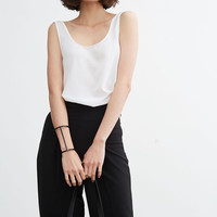 High Waist Wide Leg Pants