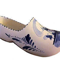 Delft Blue Shoe, Delft Blue Wall, Delft Wall Décor, Blue Shoe, Made in Holland, Blue and White, Blue White Porcelain, Pottery Planter, Blue