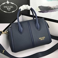 prada newest popular women leather handbag tote crossbody shoulder bag satchel 70
