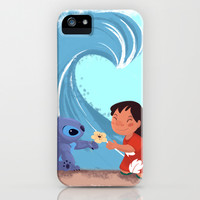 Lilo & Stitch iPhone & iPod Case by Orelly