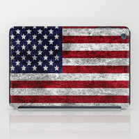 USA Grunge Flag iPad Case by Alice Gosling