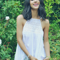 Elijah Lace Camisole in White