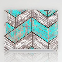 SHORELINE CHEVRONS (1 of 3) iPad Case by John Medbury (LAZY J Studios)